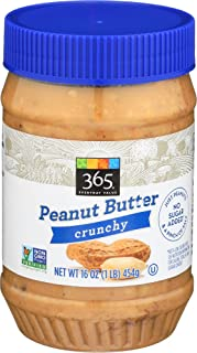 365 Everyday Value, Crunchy Peanut Butter, 16 oz