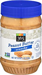 365 Everyday Value, Peanut Butter Crunchy, 16 oz