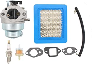 Carburetor Air Filter Tune-Up Kit For Honda HRZ216 HRB216 HRT216 HRR216 GCV160A HRS216 GCV160 GCV160LA GCV160LA0 GCV135 Engine Motor Husky Power Troy-Bilt Pressure Washer Lawnmower Poulan Mower