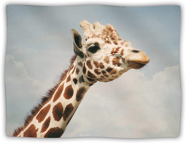 Kess InHouse Angie Turner Giraffe Animal Pet Blanket, 40 by 30Inch