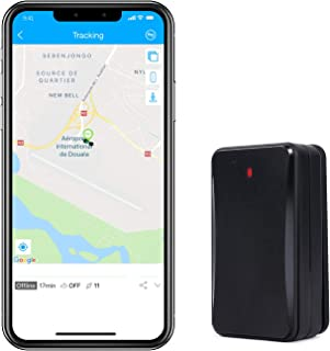 Hidden GPS Tracker Lifetime Free, Famisafe 10000mAh 3G Real Time Car GPS Tracker for Personal Vehicles with IP65 Waterproof Magnetic Case, 180 Days Long Standby LBS Positioning Fuction (GPS-Tracker)