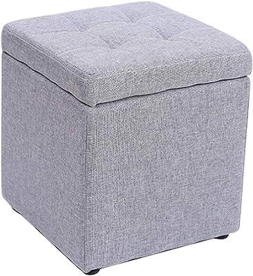 Remarkable Amazon Com Foot Stool Storage Box Cube Pouffe Chair Square Creativecarmelina Interior Chair Design Creativecarmelinacom