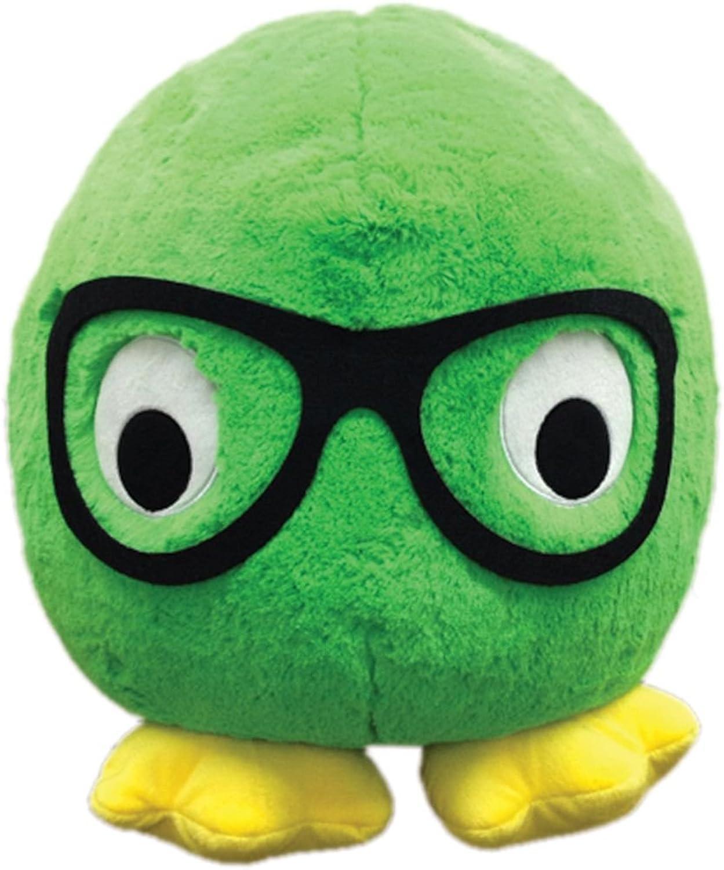 Iscream Monstars Dexter Plush Round Microbead Pillow Friend by