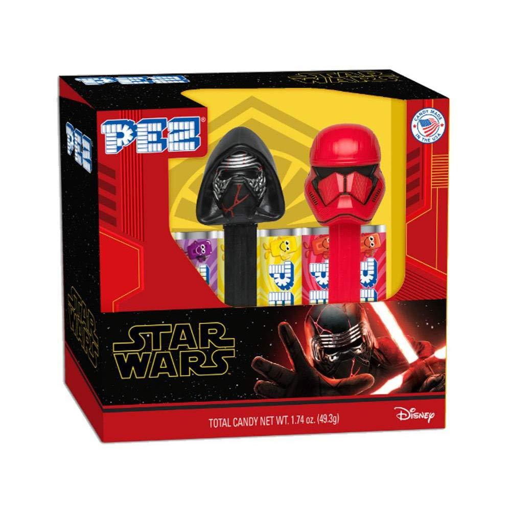 PEZ Outstanding Candy Star Wars Ep. 9 Twin - Set Mini D Pack Sales results No. 1 Packs Gift