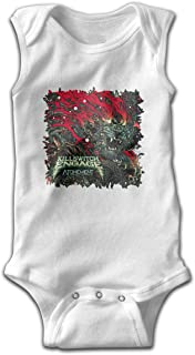 Killswitch Engage Atonement Baby Boy's Girl's Sleeveless Baby Onesie Cartoon Breathable White