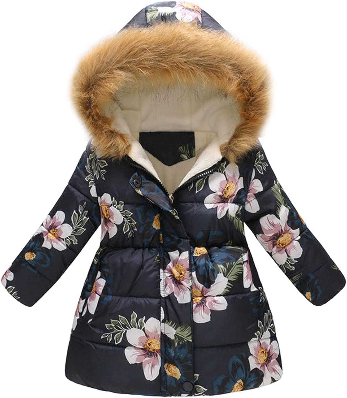 Toddler Baby Floral NEW Print Jacket Parkas Tops Wi Kids Over item handling for Hoodies
