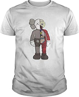 BFF figures Kaws Dior plush and Uniqlo shirt, Tees, Unisex Hoodie, Sweatshirt For Mens Womens Ladies Kids