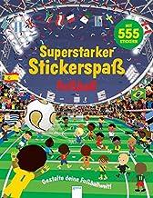 Superstarker Stickerspaß. Fußball: Gestalte deine Fußballwelt!