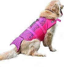 WOpet Dog Life Jacket, Fashion Dog Saver Life Jacket for Water Safety at The Beach,Pool,Boating