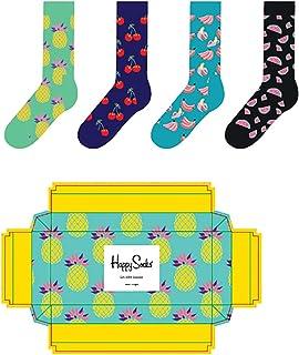 Happy Socks, Caja de regalo de frutas SXPIN09-7000 multicolor 41/46 hombre 4 pares
