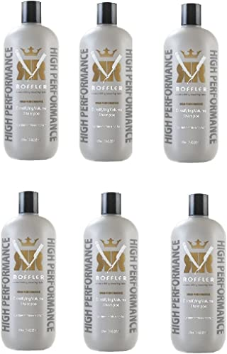 discount 6 Pc Roffler online High Performance Densifying Volume Shampoo, 32 online once (946.35ml) outlet sale