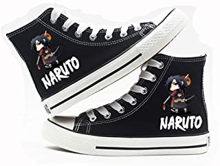 NLJ-lug Naruto Cartoon Anime High-Help Studenti Cosplay Cos Scarpe di Tela Comode Scarpe Casual da Uomo E da Donna College