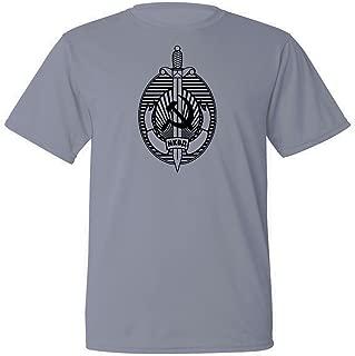 Mycooltee Russian USSR NKVD KGB Soviet Security Service Sweat Proof Training t-Shirt