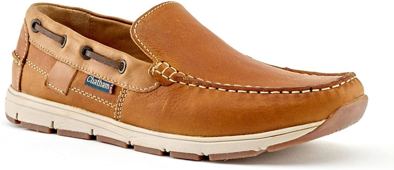 54caf13c57966 Men's shoes Leather Tan Slip-On Chatham - Deck Avery cmhee20786749 ...