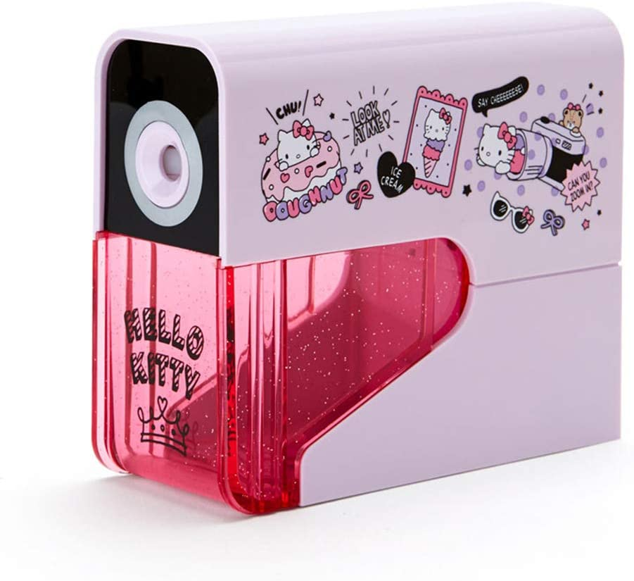 Hello Kitty Slim Special price for a limited time Electric Sharpener Max 73% OFF Pencil Dream