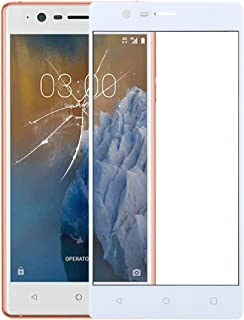 WTYD Mobile Phone Lens Glass Front Screen Outer Glass Lens for Compatible with Nokia 3
