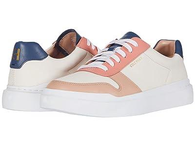 Cole Haan Grandpro Rally Court Sneaker (Sheer Pink/Vintage Indigo/Burnt Coral/Mahogany Rose/Optic White) Women