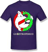 TTATT Ghostbusters 3 Cut Ghost Crewneck Casual Men's Tee Shirts