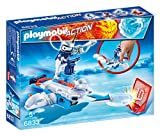 Playmobil Fire & Action- Action Playmobil Figura Robot con Nave...