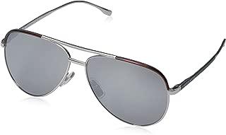 BOSS by Hugo Boss Men's B0782S Aviator Sunglasses