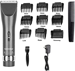 Sminiker Professional Hair Clippers Cordless Haircut Machine Barber Shavers Rechargeable..