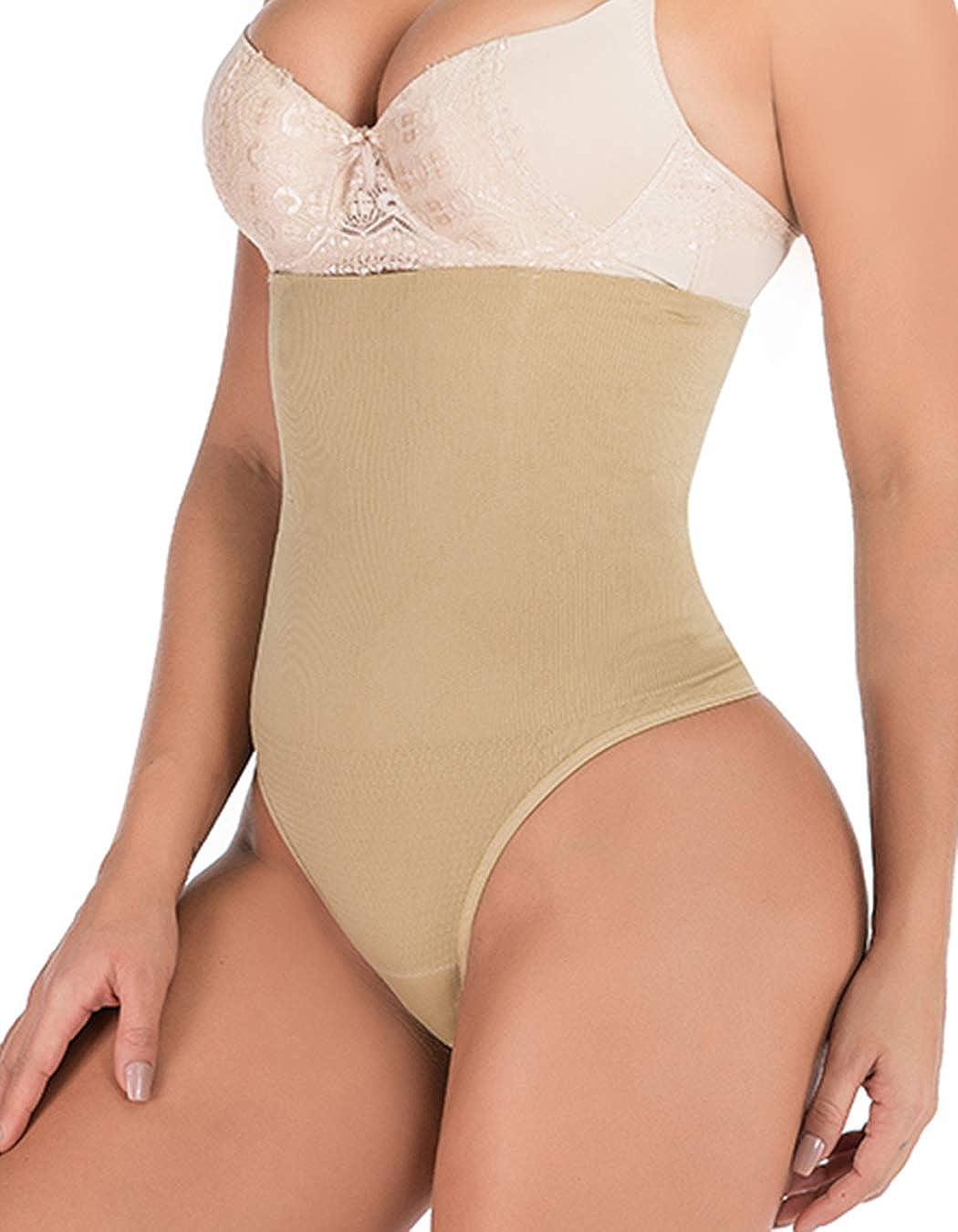FLORATA Women High Waist Thong Butt Briefs Shapewear Direct sale of manufacturer Body Lifter Our shop most popular