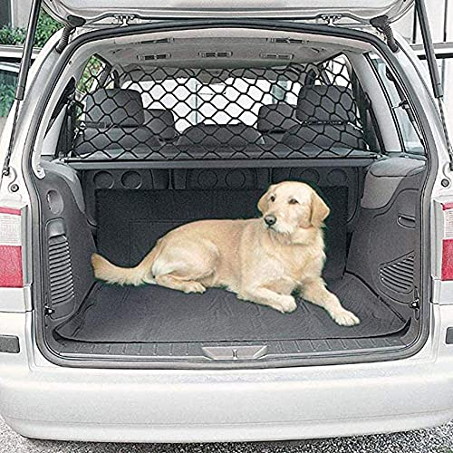 Dog Barrier for Car Pet Safety Barrier Net, Adjustable Practical Pet Separation Net Fence Simple Safety Washable Vehicle Barrier Pet Restraint Travel Block Puppies for SUV Vans Trucks 47x27.5 Inch