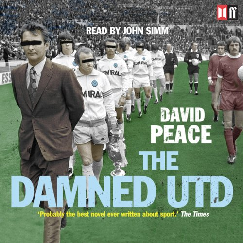 The Damned Utd audiobook cover art