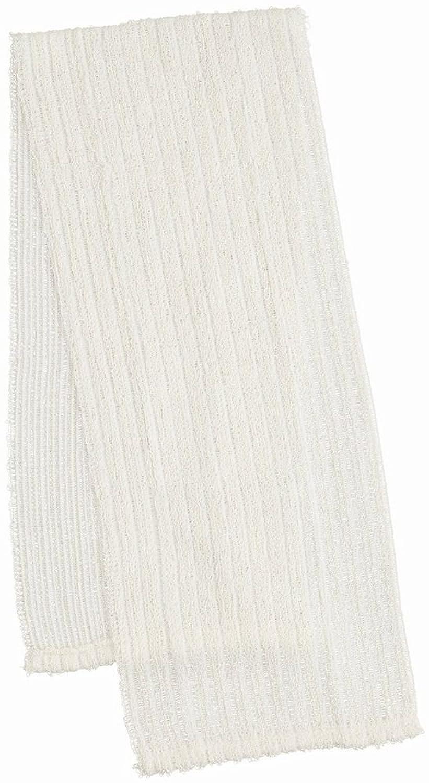 マーナ ふっくら絹&綿ボディタオル B540