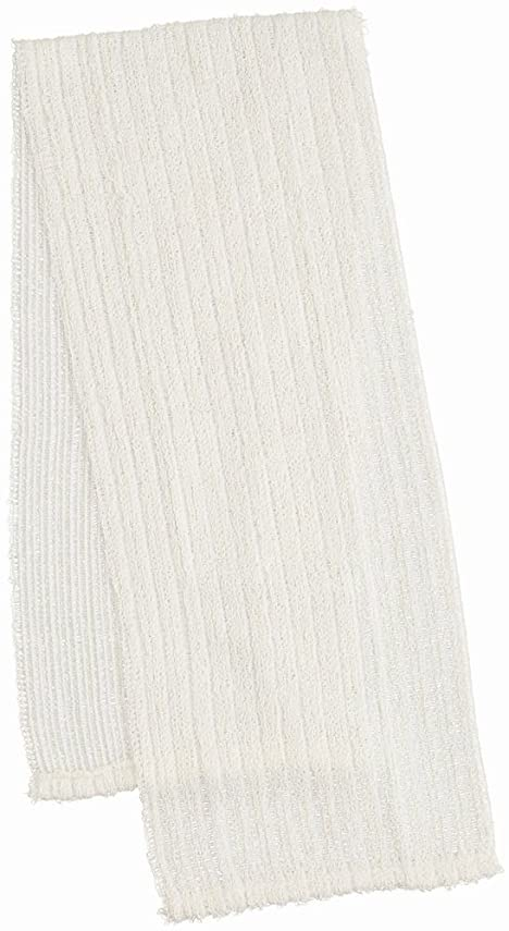 懺悔強化する小川マーナ ふっくら絹&綿ボディタオル B540