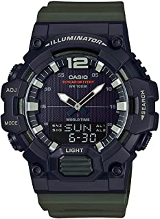 Casio Men's Dial Resin Band Watch - HDC-700-3AVEF