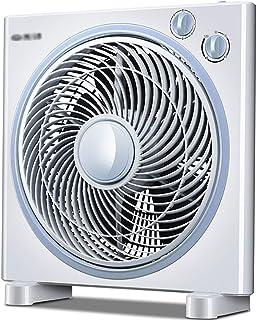 GAIQIN Ventilador de Aire Acondicionado Ventilador Eléctrico Escritorio Ventilador Hogar Dormitorio Silencioso Tiempo Ahorro De Energía Ventilador Eléctrico Mecánico Gris 45W