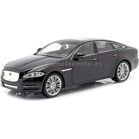 Jaguar Xj Schwarz 2010 Modellauto Fertigmodell Welly 1 24 Spielzeug