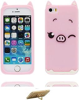 2bea065858f iPhone 5/5S/SE/5C/5G Carcasa Case suave de silicona,