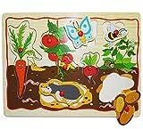 alles-meine.de GmbH Steckpuzzle mit Griffen - Gemüse