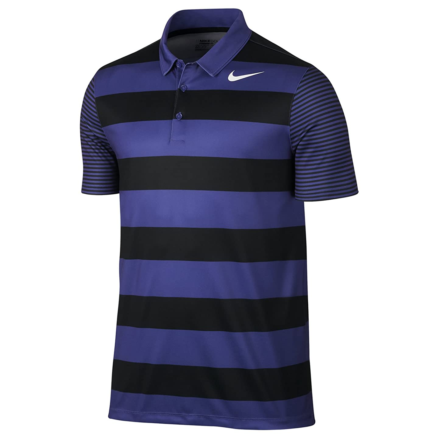 NIKE Men's Dry Bold Stripe Golf Polo