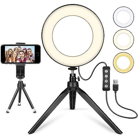 Ringlicht Mit Phone Stativ Selfie Ring Licht 6 Zoll Kamera