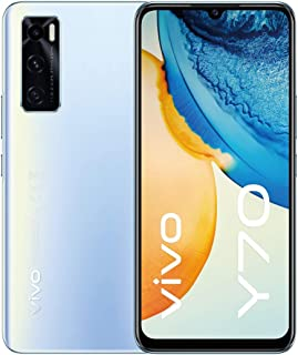 "vivo Y70 - Dual Nano Sim 4G Smartphone, 128GB, 6.44"" 1080P AMOLED Halo Display (Oxygen Blue)"