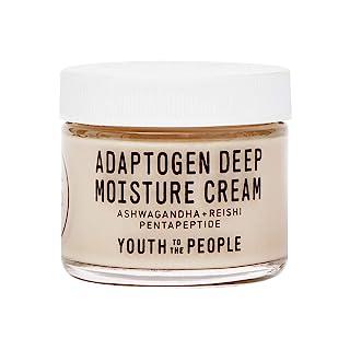 Youth To The People Adaptogen Deep Moisture Cream - Heavy Facial Moisturizer with Pentapeptide, Rhodiola + Reishi Mushroom...