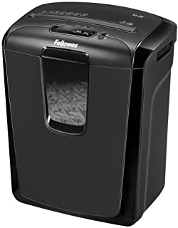 Fellowes Personal cross cut shredder Model - M-8C with Safety Lock for Home Use, 8 Sheet shred capacity