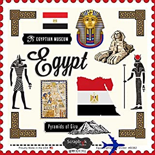 Egypt Sightseeing Scrapbook Stickers (60362)