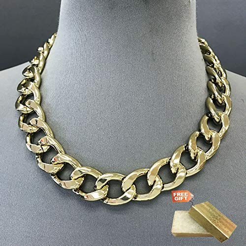 Gold Finished Chain 0.75