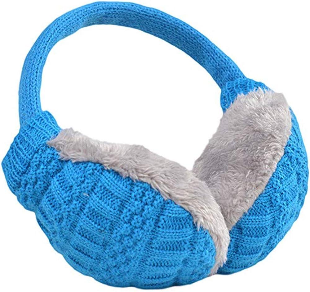Tvoip Top Sell Winter Ear Cover Women Warm Knitted Earmuffs Ear Warmers Women Girls Plush Ear Muffs Earlap Warmer Headband