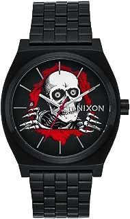 NEW Nixon Time Teller Watch Powell Peralta Bones Brigade Ripper Black