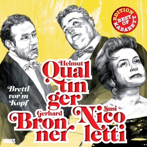Helmut Qualtinger, Gerhard Bronner & Susi Nicoletti Titelbild