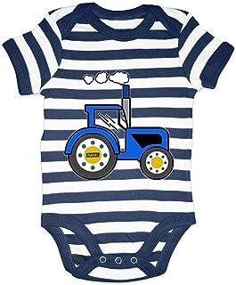 HARIZ Body para bebé con diseño de tractor, excavadora de tren y tarjeta de regalo