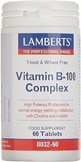 Lamberts Vitamina B-100 Complex - 60 Tabletas