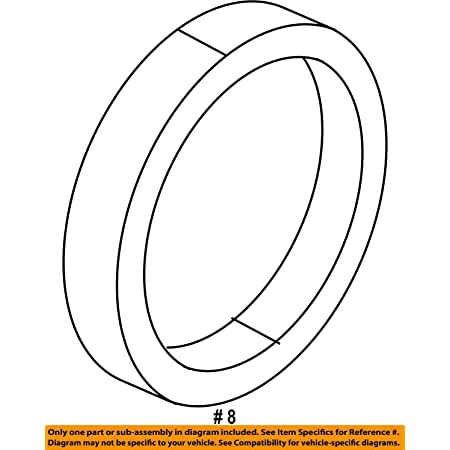 APDTY 107064 Axle Housing O-Ring Replaces 52114079AA