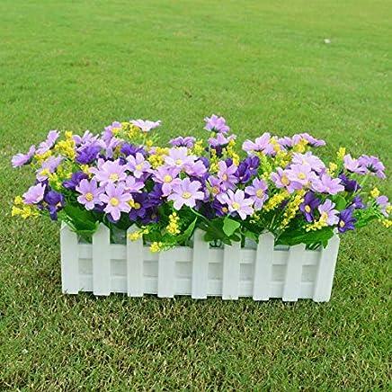 Jardiniere Fleurs Artificielles Exterieur