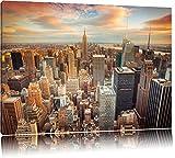 Skyline von New York Format: 120x80 auf Leinwand, XXL